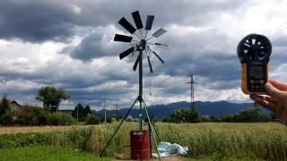 getlinkyoutube.com-Diy small windmill water pump