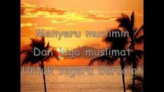 Fitri Haris-Suara Azan (Lirik)