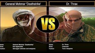 Shockwave Challenge Mode: General Mohmar Deathstrike VS Dr. Thrax