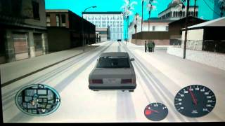 getlinkyoutube.com-Gta sa mod snow lucky (เมืองหิมะ)