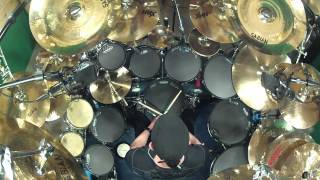 getlinkyoutube.com-Revenga by System Of A Down. Drum cover- By Kevan Roy
