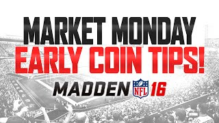 getlinkyoutube.com-Madden 16 Ultimate Team - MARKET MONDAY! - How To Make Coins In MUT 16!
