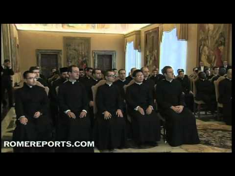 Pope calls for seminarians support for the new evangelization