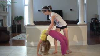 getlinkyoutube.com-Back Stretches Back Bends - Back Walkovers Backbends Tutorial