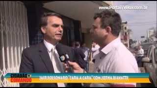 """getlinkyoutube.com-Cidadão no Comando - Jair Bolsonaro fica """"cara a cara"""" com J. Biavatti em Chapecó"""