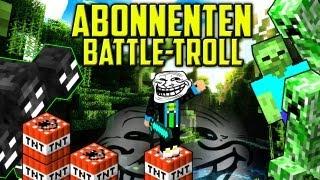 getlinkyoutube.com-Let's TROLL ABONNENTEN + 137 LEUTE SINGEN - Minecraft EGO BATTLE Trolling - trolled by GommeHD