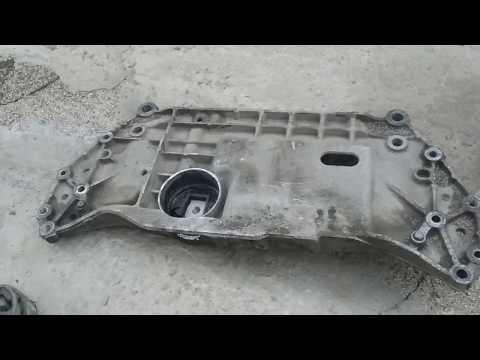 Где находятся в Ауди S3 опоры двигателя
