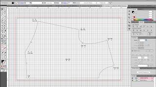 getlinkyoutube.com-Grading Your Digitized Pattern in Illustrator VIDEO 2 METHOD 1