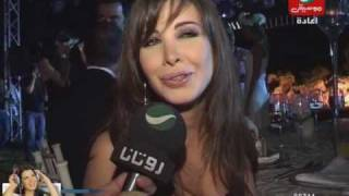 getlinkyoutube.com-Nancy Ajram - In Cyrine Abdelnour Wedding Interview (Rotana Akher El Akhbar)