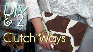 getlinkyoutube.com-Make No Sew Clutch   Purse/Case/Envelope