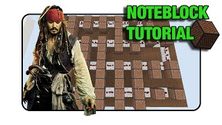 "getlinkyoutube.com-Pirates Of The Caribbean ""He's A Pirate"" Doorbell - Note Block ""Tutorial"" (Minecraft Xbox/Ps3)"
