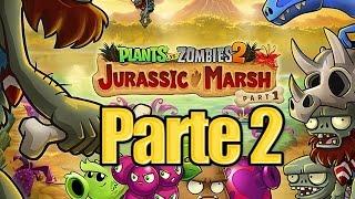 getlinkyoutube.com-Plants vs Zombies 2 - Parte 2 Pantano del Jurasico - Español
