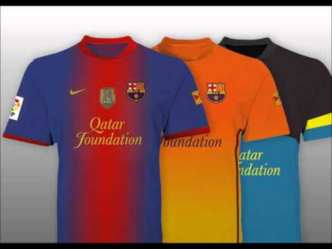 MusikaDisco CoM    Pes 2012 Nuevo Uniforme Del Barcelona 2012 13 Video