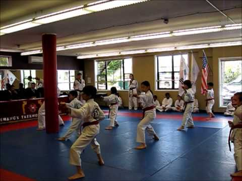 TKD Black Belt Test (1 of 5) Vocab, Poomsae - June 7, 2014