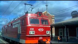 getlinkyoutube.com-Смена локомотивной бригады на станции Свирь.
