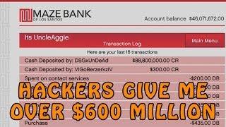 getlinkyoutube.com-GTA Online Hackers Give Me Over $600 Million @RockstarGames (GTA V Online Hackers)