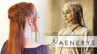 getlinkyoutube.com-Game of Thrones Hair How To - Daenerys in Season 5