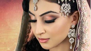 getlinkyoutube.com-Subtle Peach Asian Bridal Makeup