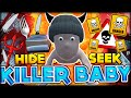I JUST KILLED ALL OF MY BABY BROTHERS! HIDE AND SEEK WHOS YOUR DADDY FUNNY MOMENTS #47