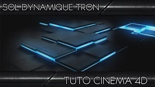 getlinkyoutube.com-Tutoriel Cinema 4D | Sol dynamique effet TRON ! | Français