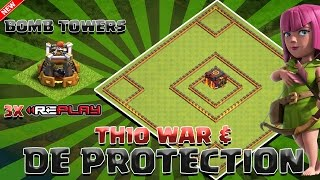 getlinkyoutube.com-Clash Of Clans - TH10 WAR/DE FARMING BASE OCTOBER UPDATE 2 BOMB TOWERS