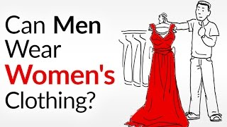 getlinkyoutube.com-Can A Man Wear Women's Clothes?  Seriously... 6 Piece Made For The Ladies You Can Wear!