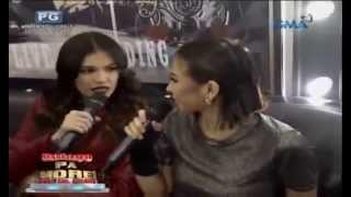 getlinkyoutube.com-Rhian Ramos and Glaiza De Castro on Bulaga Pa More, Rock Pa More (Eat Bulaga)