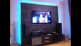 LED TV Wand selber bauen, Cinewall do it yourself