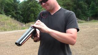 "getlinkyoutube.com-NFA Shotguns - 11"" Double Barrel Stoeger 12 GA, 12.5"" Rem 870"