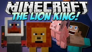 getlinkyoutube.com-Minecraft   THE LION KING! (40+ New Mobs and 3 New Dimensions!)   Mod Showcase [1.5.1]