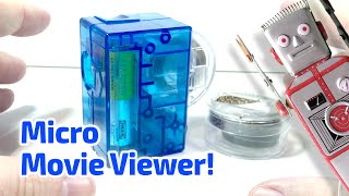 getlinkyoutube.com-2005 MICRO MOVIE VIEWER With Superman Cartoon! Working Miniature by Fascinations