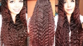 getlinkyoutube.com-No Heat Summer Crimped Waves 2 quick and Easy Spring And Summer Hairstyles