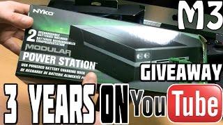 getlinkyoutube.com-3 Years On Youtube Giveaway! Nyko Charger Xbox One & PS4!