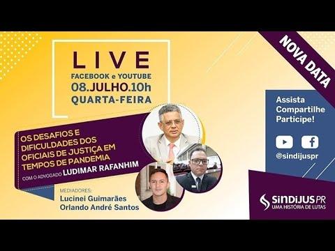 Live: Oficiais de Justiça – rotina adaptada por conta da pandemia