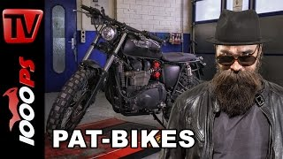 getlinkyoutube.com-Triumph Bonneville T100 Umbau by PAT-BIKES inkl. Soundcheck