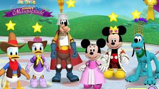 getlinkyoutube.com-Disney Mickey Mouse Clup House Minnie's Masquerade Match Up Disney Junior Games