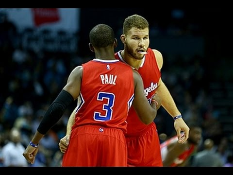 Chris Paul and Blake Griffin Put Up Double-Doubles in Win