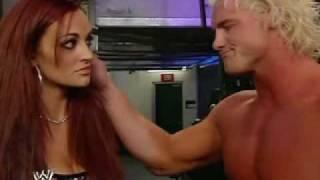 getlinkyoutube.com-Smackdown 9/10/09 WWE Maria & Dolph Ziggler Backstage
