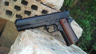 getlinkyoutube.com-Bruni M96 (M1911) gázpisztoly
