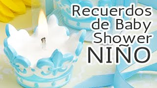 getlinkyoutube.com-40 Ideas Recuerdos para Baby Shower *Niño* HD