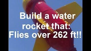 getlinkyoutube.com-How To Build  : Ultimate Water Rocket !!