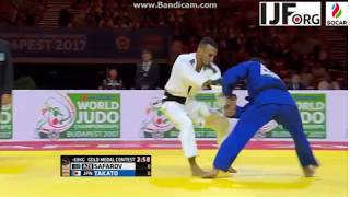 World Judo Championship 2017, Gold Medal fight -60kg, SAFAROV Orkhan (AZE)-TAKATO Naohisa (JPN)