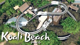 getlinkyoutube.com-Planet Coaster - Koali Beach Park (Part 6) - Log Flume Ride (ft. De-Lady-signer & Silvarret)