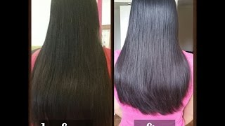 getlinkyoutube.com-Long Layared  U-shape Ladies Haircut -Homeservice-