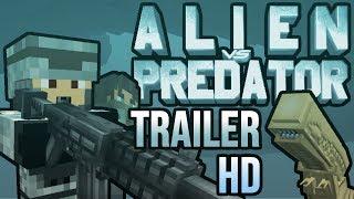 getlinkyoutube.com-Alien vs Predator Minecraft Mod Official Trailer 2 [HD]