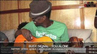 Busy Signal - You Alone