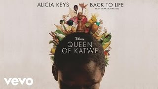 BACK TO LIFE - ALICIA KEYS karaoke version ( no vocal )  instrumental