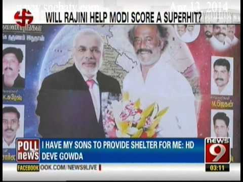 News9 - Will Rajini help Modi score a superhit