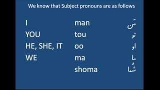 Possessive Adjective In Dari Language - ضمایر شخصی پیوسته در زبان پارسی دری