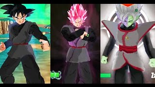 getlinkyoutube.com-Black Goku , SSJ Rose and Zamasu fusion - DLC !(DBZ TTT) MODS